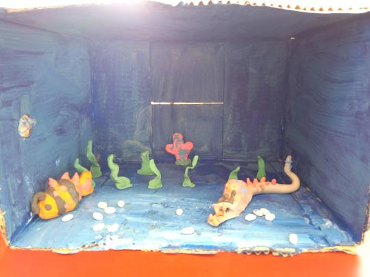 Year 5 Students And Their Adaptation Projects