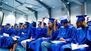 Graduation for year nine students